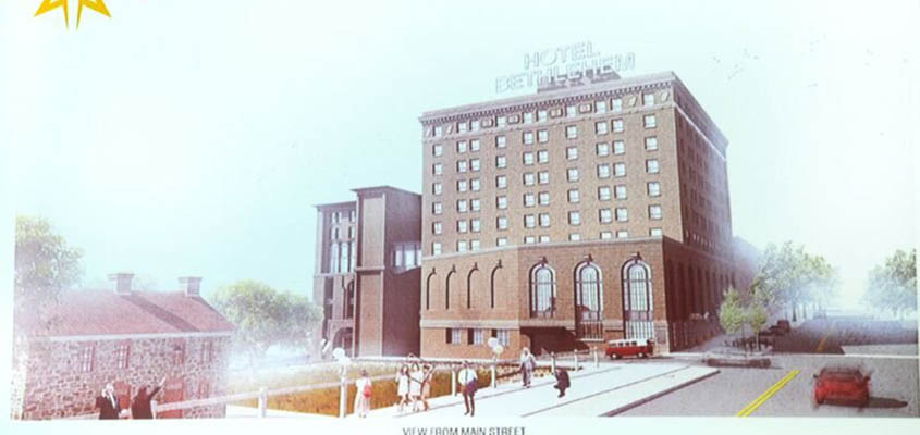 Architectural Rendering of Proposed Hotel Expansion